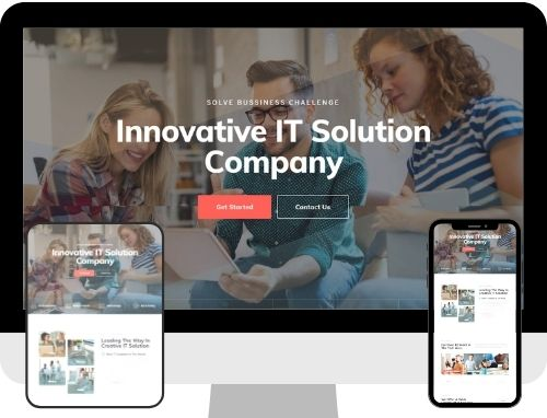Business Website The Primay